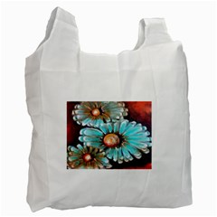 Fall Flowers No  2 Recycle Bag (two Side)  by timelessartoncanvas