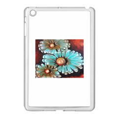 Fall Flowers No  2 Apple Ipad Mini Case (white) by timelessartoncanvas