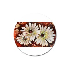 Fall Flowers No  3 Magnet 3  (round) by timelessartoncanvas
