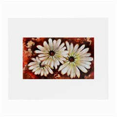 Fall Flowers No. 3 Small Glasses Cloth by timelessartoncanvas