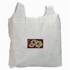 Fall Flowers No  3 Recycle Bag (two Side)  by timelessartoncanvas