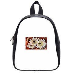 Fall Flowers No  3 School Bags (small)  by timelessartoncanvas