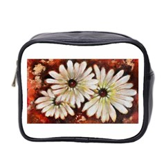 Fall Flowers No  3 Mini Toiletries Bag 2 Side by timelessartoncanvas