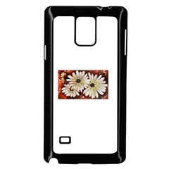 Fall Flowers No. 3 Samsung Galaxy Note 4 Case (Black) by timelessartoncanvas