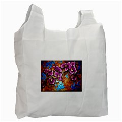 Fall Flowers No. 5 Recycle Bag (One Side) by timelessartoncanvas