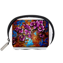 Fall Flowers No  5 Accessory Pouches (small)