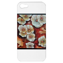 Fall Flowers No  6 Apple Iphone 5 Hardshell Case by timelessartoncanvas