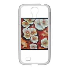 Fall Flowers No  6 Samsung Galaxy S4 I9500/ I9505 Case (white) by timelessartoncanvas