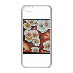 Fall Flowers No  6 Apple Iphone 5c Seamless Case (white) by timelessartoncanvas