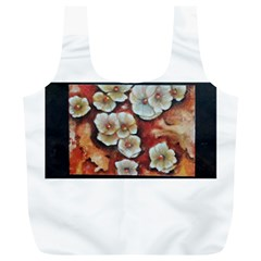 Fall Flowers No  6 Full Print Recycle Bags (l)  by timelessartoncanvas