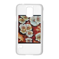 Fall Flowers No  6 Samsung Galaxy S5 Case (white) by timelessartoncanvas