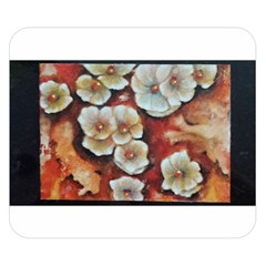 Fall Flowers No  6 Double Sided Flano Blanket (small)  by timelessartoncanvas