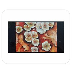 Fall Flowers No  6 Double Sided Flano Blanket (medium)  by timelessartoncanvas