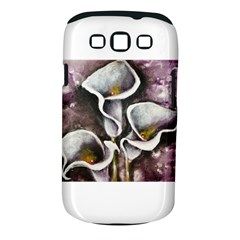 Gala Lilies Samsung Galaxy S III Classic Hardshell Case (PC+Silicone) by timelessartoncanvas