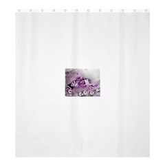 Shades Of Purple Shower Curtain 66  X 72  (large)  by timelessartoncanvas