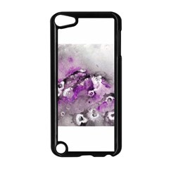 Shades Of Purple Apple Ipod Touch 5 Case (black) by timelessartoncanvas