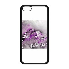 Shades of Purple Apple iPhone 5C Seamless Case (Black) by timelessartoncanvas