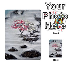 Mountains, Trees And Fog Multi Purpose Cards (rectangle)  by timelessartoncanvas