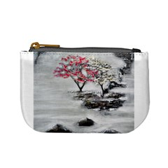 Mountains, Trees and Fog Mini Coin Purses by timelessartoncanvas