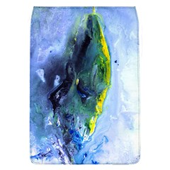Bright Yellow And Blue Abstract Flap Covers (l)  by timelessartoncanvas