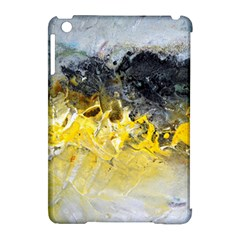 Bright Yellow Abstract Apple iPad Mini Hardshell Case (Compatible with Smart Cover) by timelessartoncanvas