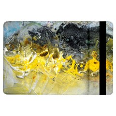 Bright Yellow Abstract Ipad Air Flip by timelessartoncanvas