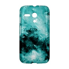 Turquoise Abstract Motorola Moto G by timelessartoncanvas
