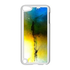 Watercolor Abstract Apple Ipod Touch 5 Case (white) by timelessartoncanvas