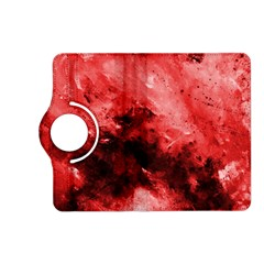 Red Abstract Kindle Fire Hd (2013) Flip 360 Case by timelessartoncanvas