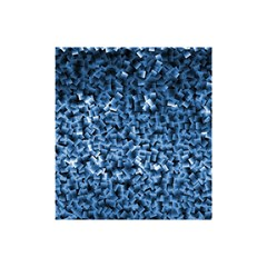 Blue Cubes Shower Curtain 48  x 72  (Small)