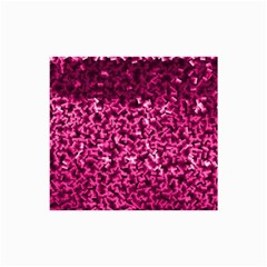 Pink Cubes Collage 12  X 18  by timelessartoncanvas