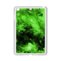 Bright Green Abstract Ipad Mini 2 Enamel Coated Cases by timelessartoncanvas