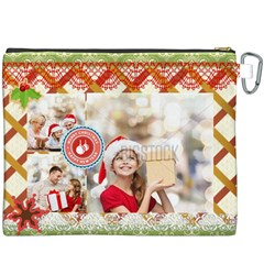 Xmas By Xmas   Canvas Cosmetic Bag (xxxl)   Vhdn7ys5r3sq   Www Artscow Com Back