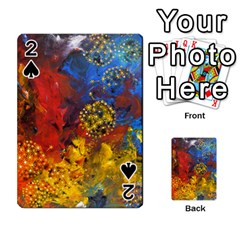 Space Pollen Playing Cards 54 Designs  by timelessartoncanvas