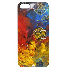 Space Pollen Apple Iphone 5 Hardshell Case With Stand by timelessartoncanvas