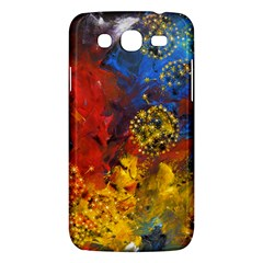 Space Pollen Samsung Galaxy Mega 5 8 I9152 Hardshell Case  by timelessartoncanvas