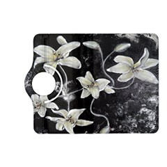 Black And White Lilies Kindle Fire Hd (2013) Flip 360 Case