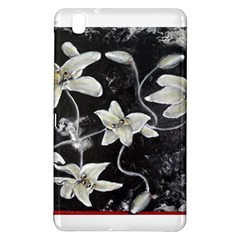 Black And White Lilies Samsung Galaxy Tab Pro 8 4 Hardshell Case by timelessartoncanvas