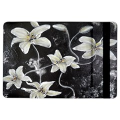 Black and White Lilies iPad Air 2 Flip by timelessartoncanvas