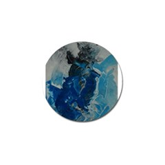Blue Abstract Golf Ball Marker (10 Pack) by timelessartoncanvas