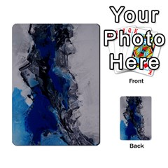 Blue Abstract No 3 Multi Purpose Cards (rectangle)  by timelessartoncanvas