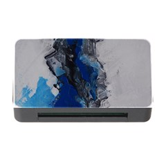Blue Abstract No.3 Memory Card Reader with CF by timelessartoncanvas