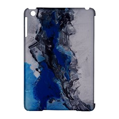 Blue Abstract No 3 Apple Ipad Mini Hardshell Case (compatible With Smart Cover) by timelessartoncanvas