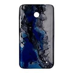 Blue Abstract No.3 Nokia Lumia 630 by timelessartoncanvas