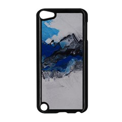 Blue Abstract No 4 Apple Ipod Touch 5 Case (black) by timelessartoncanvas