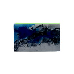Blue Abstract No.4 Cosmetic Bag (XS)