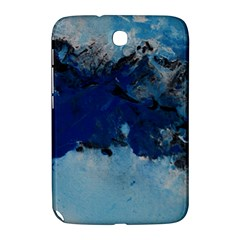 Blue Abstract No 5 Samsung Galaxy Note 8 0 N5100 Hardshell Case  by timelessartoncanvas