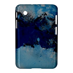 Blue Abstract No 5 Samsung Galaxy Tab 2 (7 ) P3100 Hardshell Case  by timelessartoncanvas