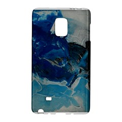 Blue Abstract No  6 Galaxy Note Edge by timelessartoncanvas