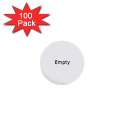 Love 1  Mini Buttons (100 pack)  by theimagezone